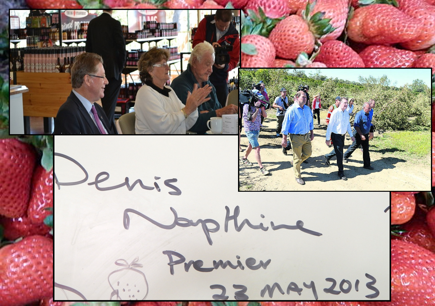 former Victorian Premier Dr Dennis Napthine