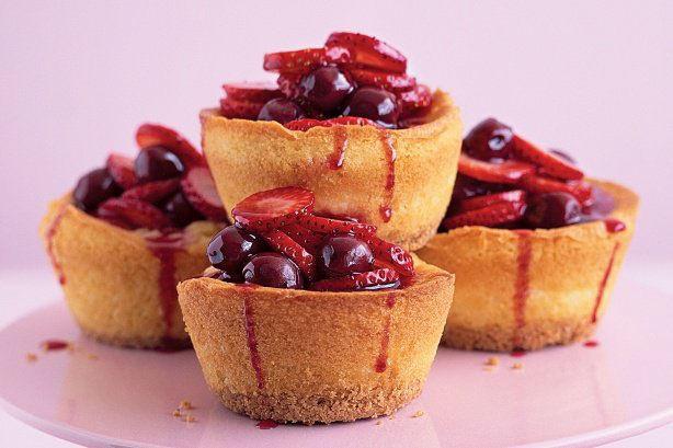 Amaretti cheesecakes