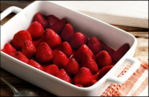 Boozy Berries with Marscopone Cream