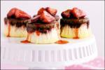 Caramel Strawberry Cheesecake
