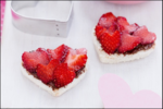 Chocolate Strawberry Hearts