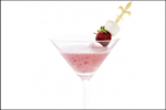 Coconut Strawberry Cocktail