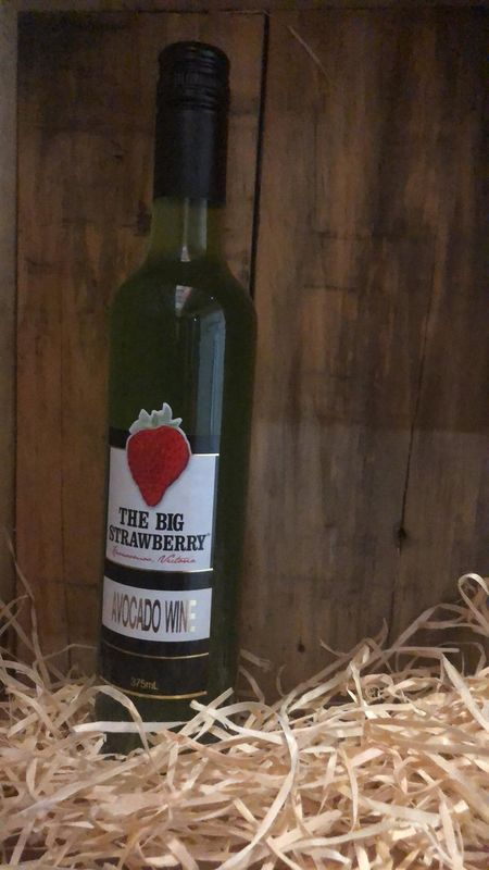 Big Strawberry Avocado Wine