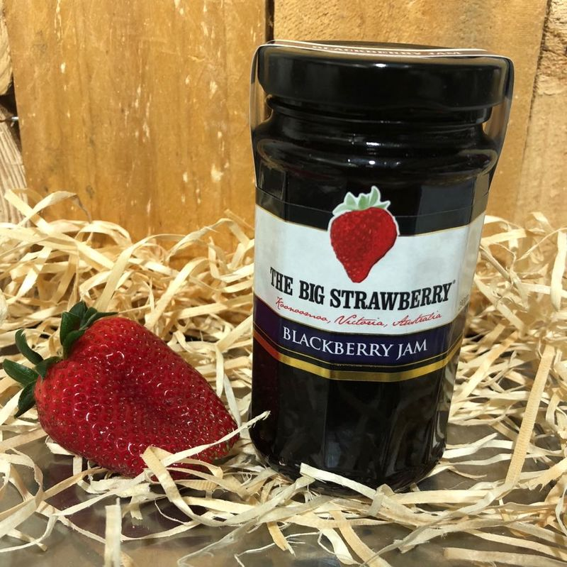 Big Strawberry Blackberry Jam 290g