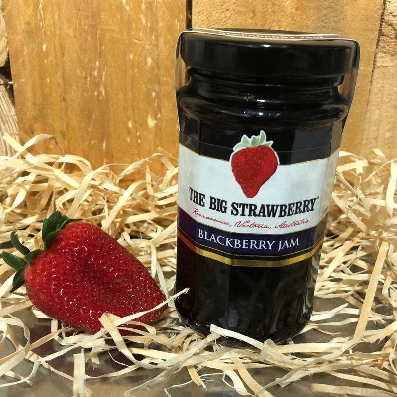 Big Strawberry Blackberry Jam 290g