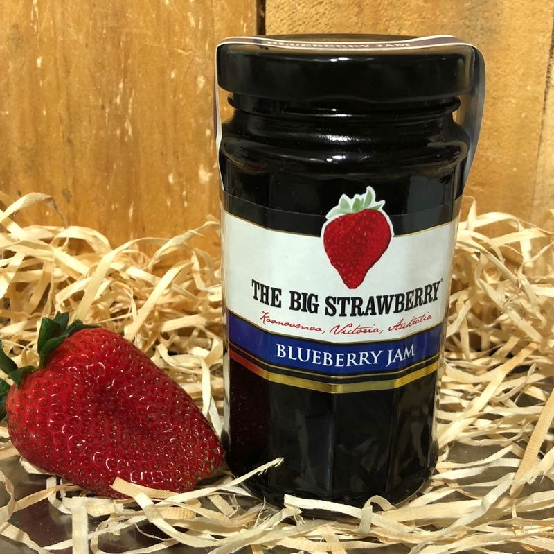 Big Strawberry Blueberry Jam 290g
