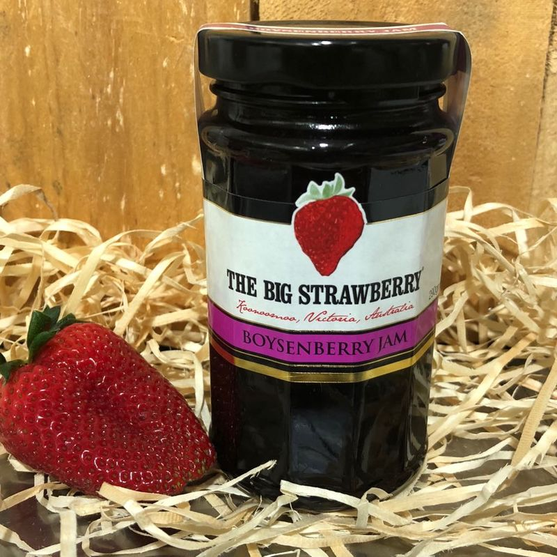 Big Strawberry Boysenberry Jam 290g