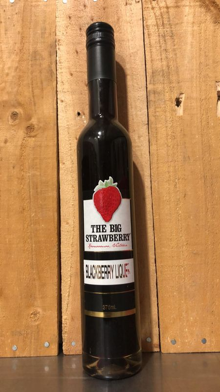 Big Strawberry Boysenberry Liquer 375ml