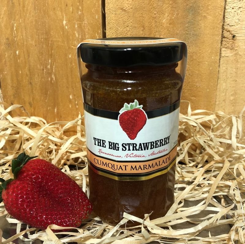 Big Strawberry Cumquat Marmalade 290g