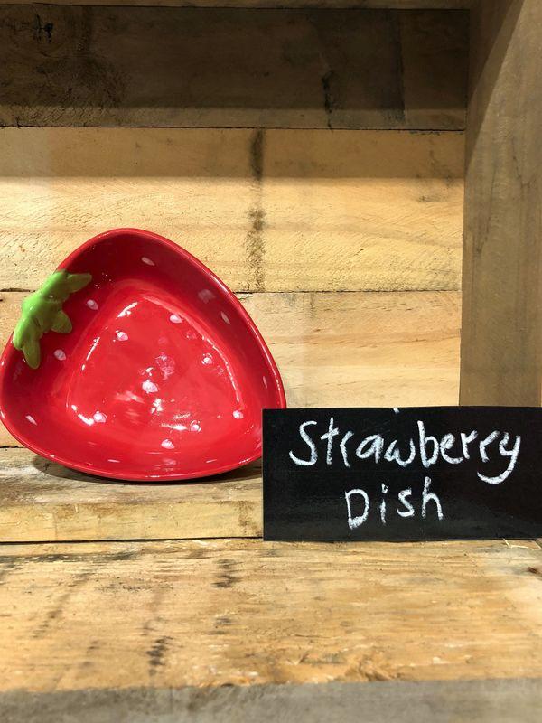 Big Strawberry Dish