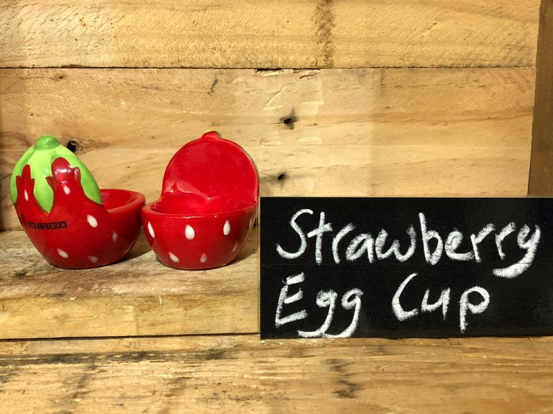 Big Strawberry Egg Cup