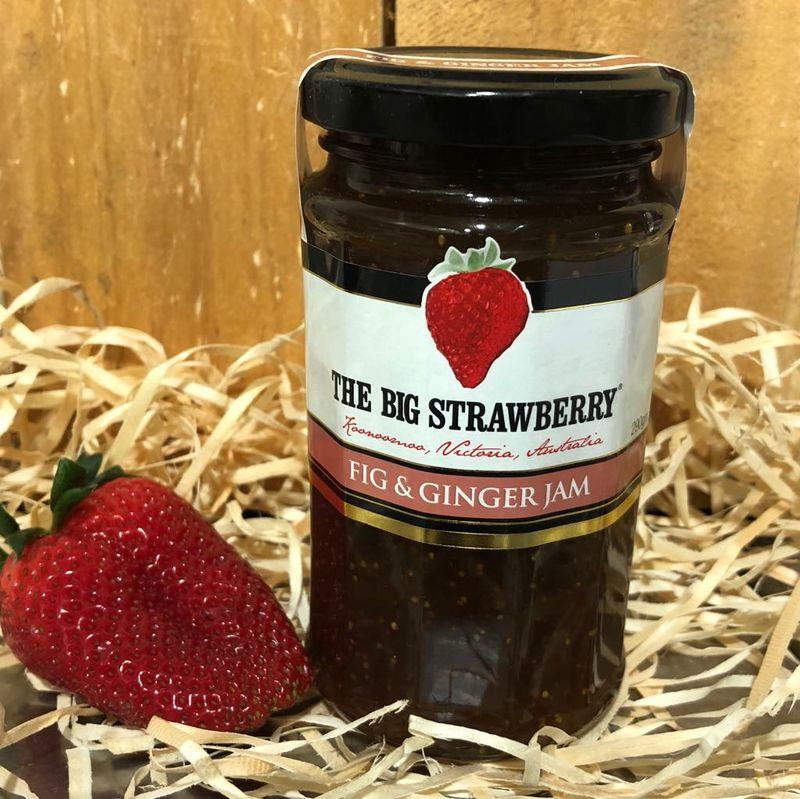 Big Strawberry Fig + Ginger Jam 290g