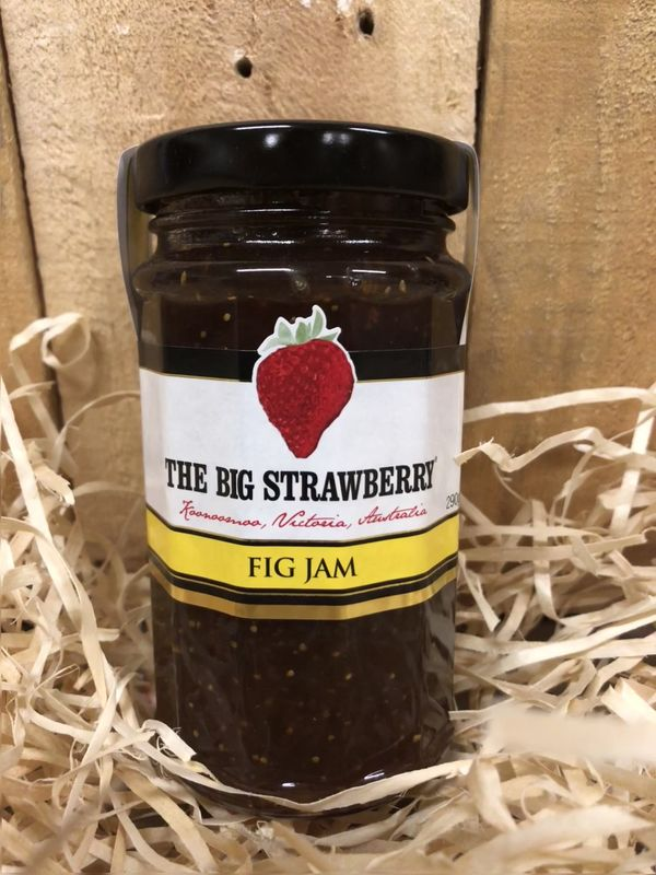 Big Strawberry Fig Jam 290g