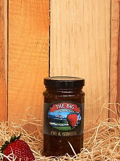 Big Strawberry Fig and Ginger Jam 290g
