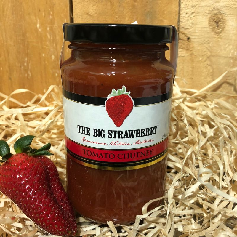 Big Strawberry Hot Tomato Chutney 480g