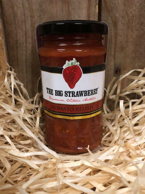 Big Strawberry Hot Tomato Relish 290g