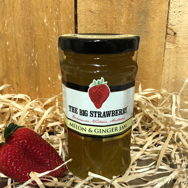 Big Strawberry Melon + Ginger Jam 290g