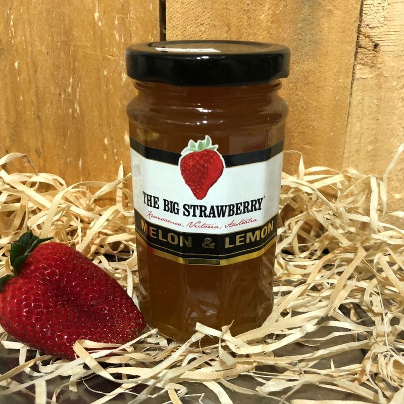 Big Strawberry Melon + Lemon Jam 290g