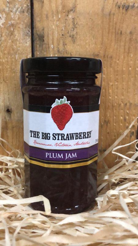 Big Strawberry Plum Jam