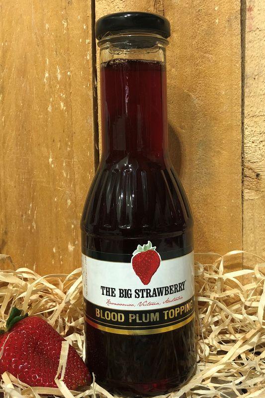 Big Strawberry Plum Topping 350ml