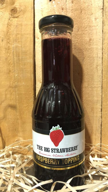 Big Strawberry Raspberry Topping 350ml