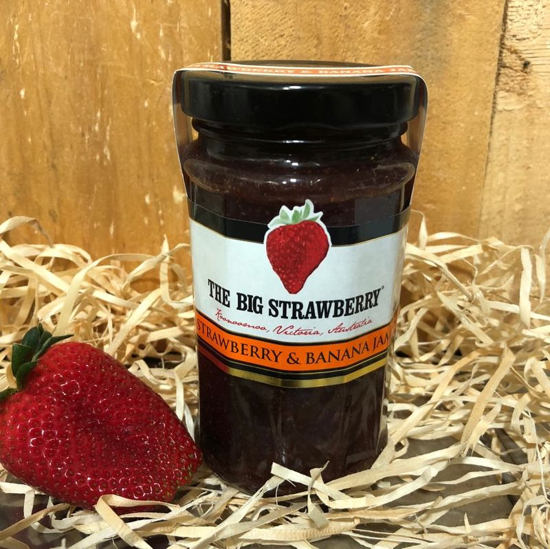 Big Strawberry Strawberry + Banana Jam 290g