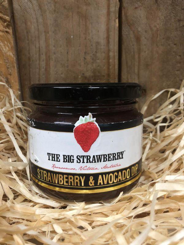 Big Strawberry Strawberry and Avocado Dip