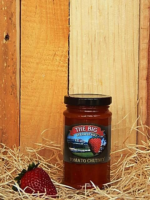 Big Strawberry Tomato Chutney