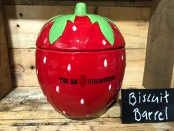 Stands 20 cm high and is berry cool...bright red and suits a friendly fun household