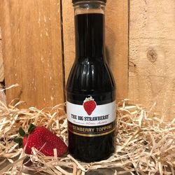 Big Strawberry Blackberry Topping 350ml