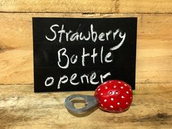 Big Strawberry Bottle Opener