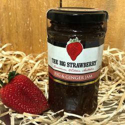 Big Strawberry Fig + Ginger Jam 290g
