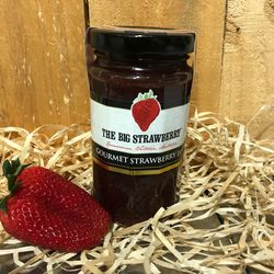 Big Strawberry Gourmet Strawberry Jam 290g