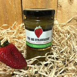 Big Strawberry Green Tomato Pickles 290g