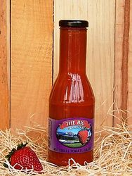 Big Strawberry Hot Chilli Tomato Sauce 350g