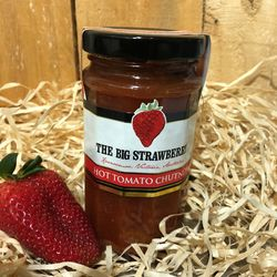 Big Strawberry Hot Tomato Chutney 290g