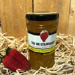Big Strawberry Melon & Pineapple Jam 290g