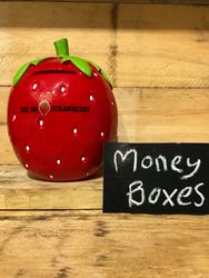 Big Strawberry Money Box