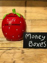 Big Strawberry Money Box