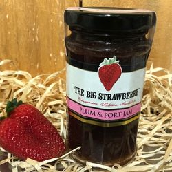 Big Strawberry Plum + Port Jam 290g