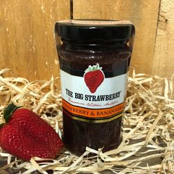 Big Strawberry Strawberry & Banana Jam 290g