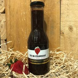 Big Strawberry Strawberry Sauce 350ml