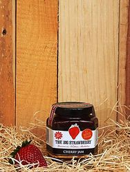 Big Strawberry Sugar Free Cherry jam 190g