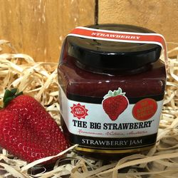Big Strawberry Sugar Free Strawberry Jam 190g
