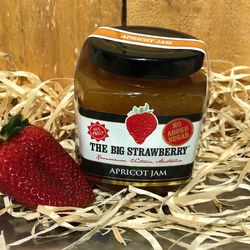 Big Strawberry Sugar free Apricot Jam 190g