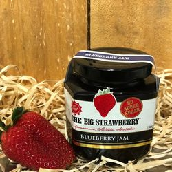 Big Strawberry Sugar free Blueberry jam 190g