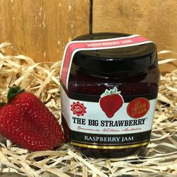 Big Strawberry Sugar free Raspberry jam 190g