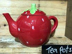Big Strawberry Teapot