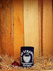 Big Strawberry foam Stubby Holder-PURPLE